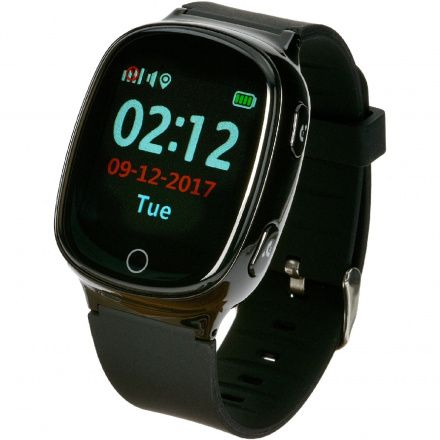 Smartwatch Lokalizator Garett Gps3 Czarny