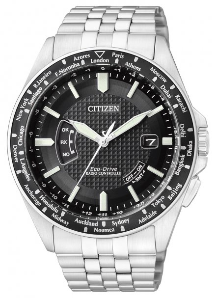 Citizen CB0021-57E Zegarek Męski Eco Drive Citizen Radiocontrol