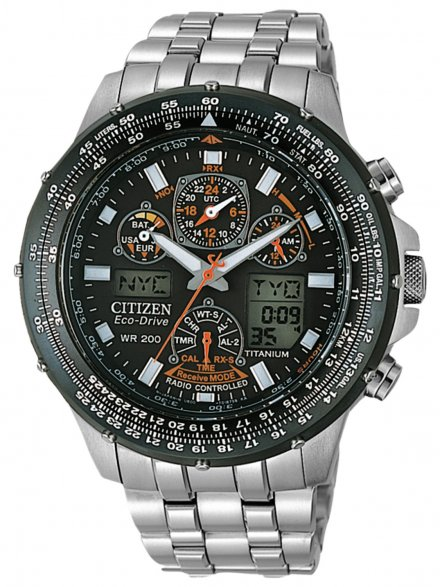Citizen JY0080-62E Zegarek Męski Eco Drive Citizen Radiocontrol