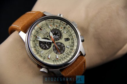 Citizen AS4020-44B Zegarek Męski Eco Drive Citizen Radiocontrol
