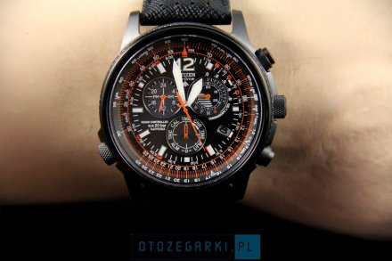 Citizen AS4025-08E Zegarek Męski Eco Drive Citizen Radiocontrol