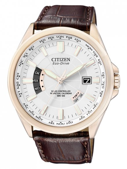 Citizen CB0013-04A Zegarek Męski Eco Drive Citizen Radiocontrol