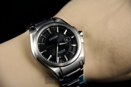Citizen BM6930-57E Zegarek Męski na bransolecie Eco Drive Titanium