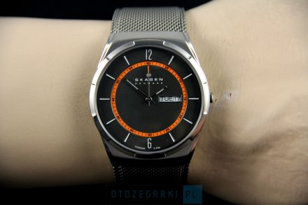 Skagen SKW6007 Zegarek Męski Skandynawskiej Marki