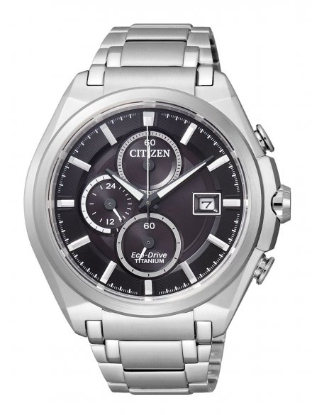Citizen CA0350-51E Zegarek Męski na bransolecie Eco Drive Titanium