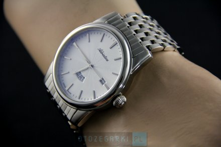 Zegarek Męski Adriatica na bransolecie A8194.5113Q - Zegarek Kwarcowy Swiss Made