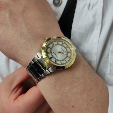 Zegarek Męski Adriatica na bransolecie A1175.6113Q - Zegarek Kwarcowy Swiss Made