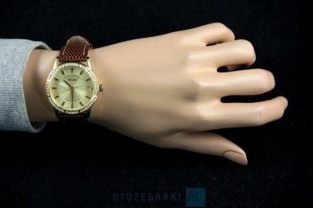 Zegarek Damski Adriatica na Pasku A3602.1211QZ - Swarovski Zegarek Swiss Made