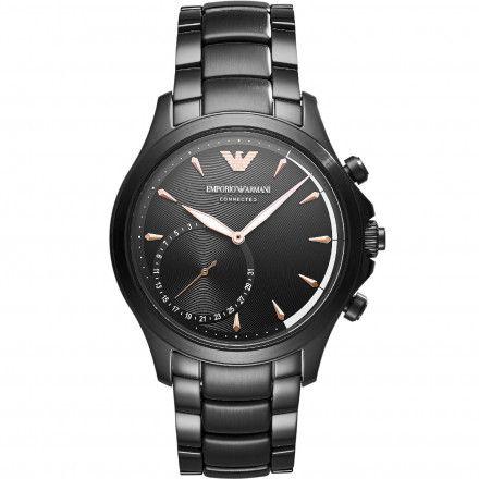 Emporio Armani Connected ART3012 Hybrydowy Zegarek SmARTwatch Ea