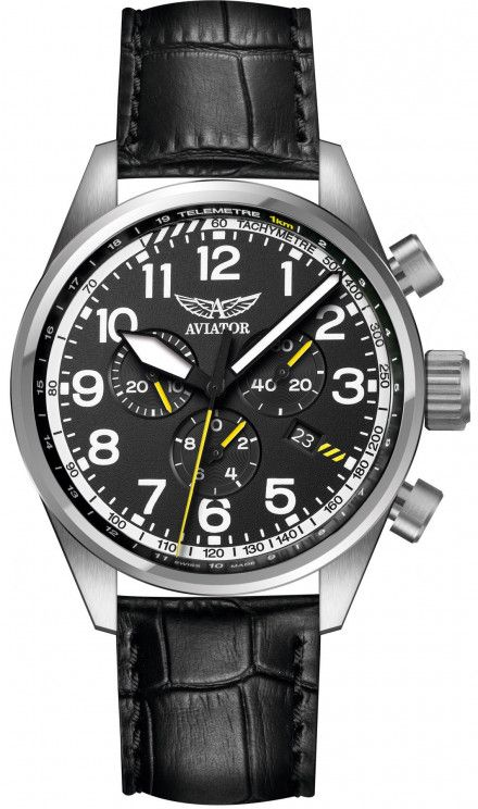 Zegarek Męski Aviator V.2.25.0.169.4 Airacobra P45 Chrono