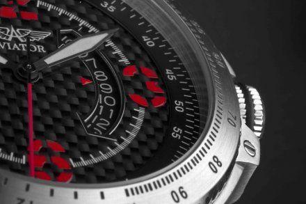 Zegarek Męski Aviator M.1.01.0.003.4 MIG-29
