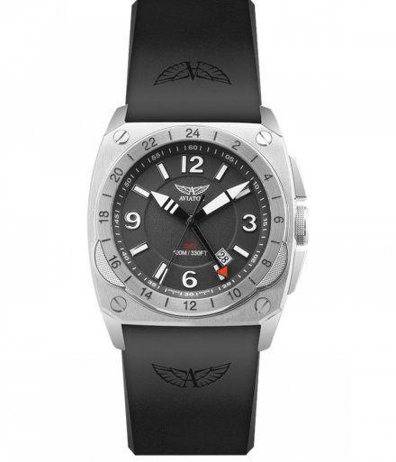 Zegarek Męski Aviator M.1.12.0.050.6 MIG-29 Gmt
