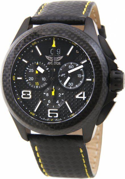 Zegarek Męski Aviator M.2.19.5.144.4 Mig-35