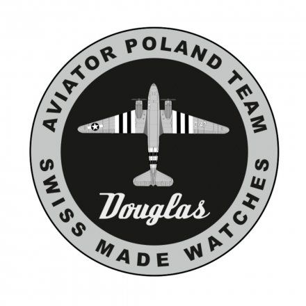 Zegarek Męski Aviator V.3.20.0.145.4 Douglas Day Date
