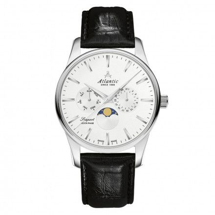 Zegarek Męski Atlantic Seaport Moon Phase 56550.41.21
