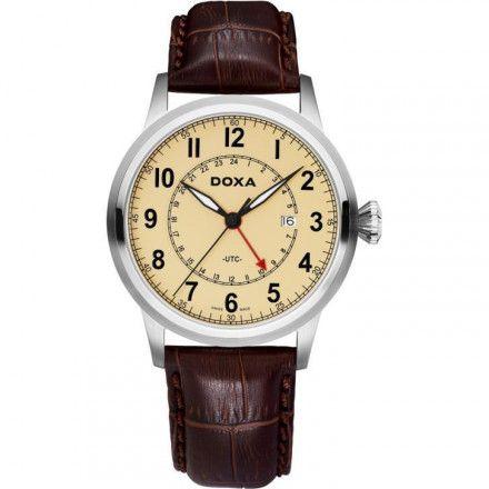 Zegarek Szwajcarski Doxa D-Air Gmt 191.10.035.02