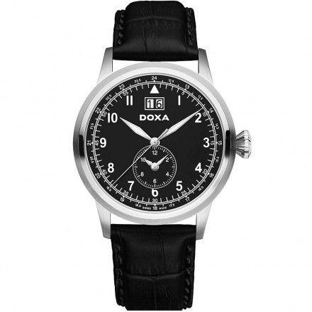 Zegarek Szwajcarski Doxa D-Air Dual Time 192.10.105.01