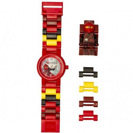 8020899 Zegarek LEGO NINJAGO KAI Minifigurka