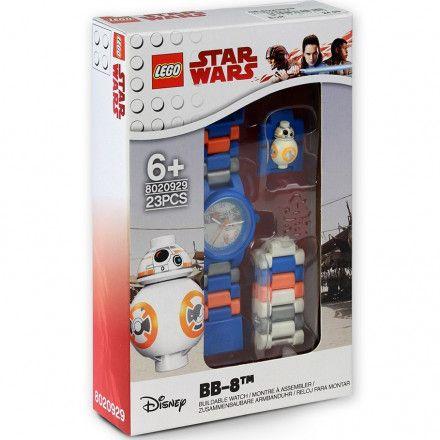 8020929 Zegarek LEGO STAR WARS BB-8 Minifigurka