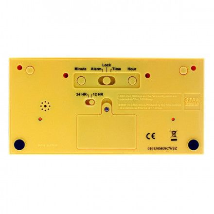 9002144 Budzik LEGO Klocek Żółty