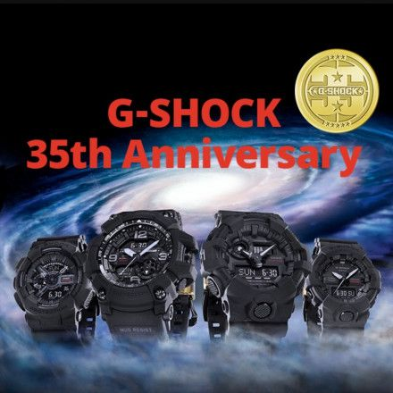 Zegarek Casio GA-735A-1AER BIG BANG BLACK G-Shock GA735A 1AER