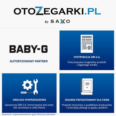 Zegarek Casio BGS-100-7A1ER Baby-G BGS 100 7A1ER