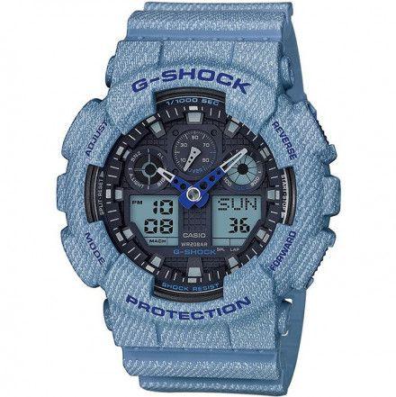 Zegarek Casio GA-100DE-2AER G-Shock GA 100DE 2AER