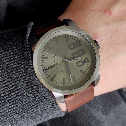 Diesel DZ1467 Zegarek Męski Na Pasku Z Kolekcji Franchise Size 46