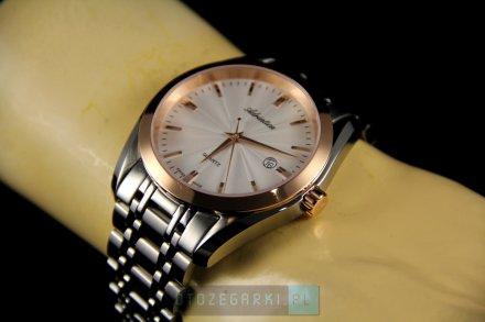 Zegarek Męski Adriatica na bransolecie A8202.R113Q - Zegarek Kwarcowy Swiss Made