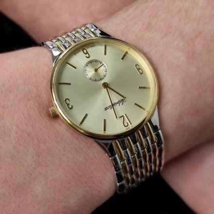 Zegarek Męski Adriatica na bransolecie A1229.2151Q - Zegarek Kwarcowy Swiss Made