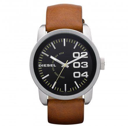 Diesel DZ1513 Zegarek MÄ™ski Na Pasku Z Kolekcji Double Down Size 46