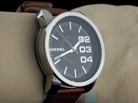 Diesel DZ1513 Zegarek Męski Na Pasku Z Kolekcji Double Down Size 46