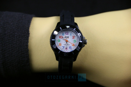 Zegarek Ice-Watch 000785 MN.BK.M.S.12 Ice - Mini - Black - Mini