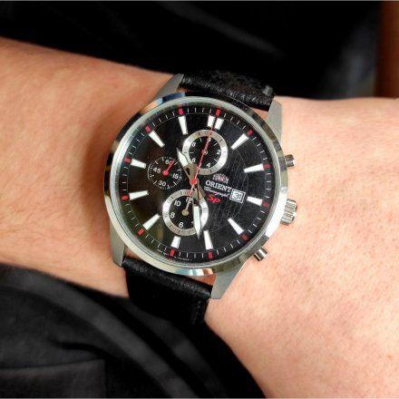 ORIENT FTT12005B0 Zegarek Męski Japońskiej Marki Orient TT12005B
