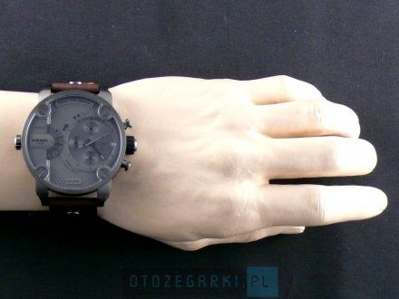 Diesel DZ7258 Zegarek MÄ™ski Na Pasku Z Kolekcji Little Daddy