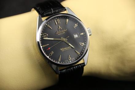 Zegarek Męski Atlantic Worldmaster Art Deco 51651.41.65G