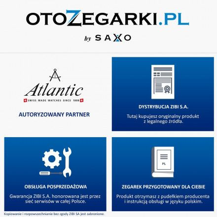 Zegarek Damski Atlantic Seagold Quartz 94340.65.31