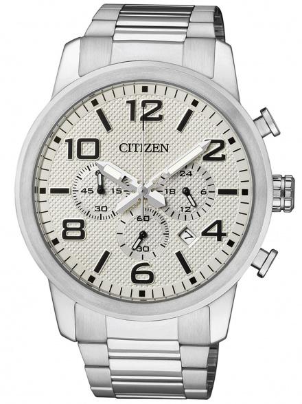Citizen AN8050-51A Zegarek Męski na bransolecie Citizen Super Chronograph model