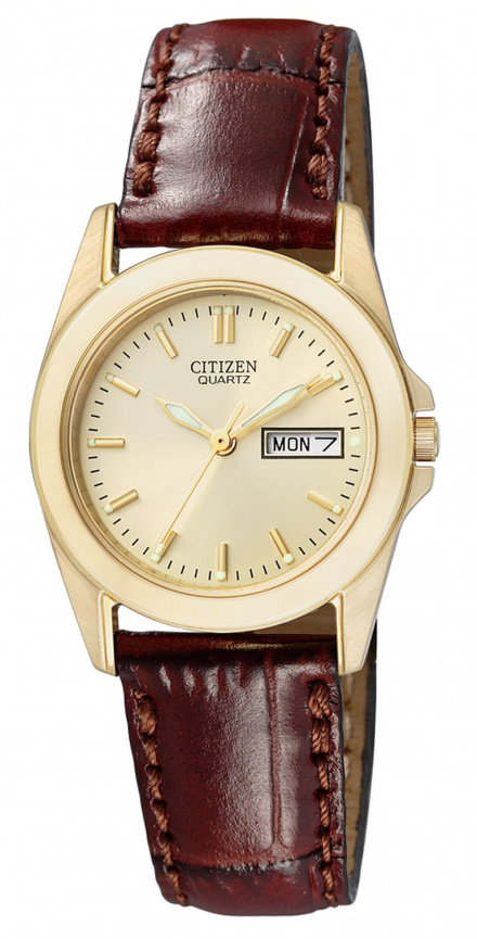 Citizen EQ0562-03P Zegarek Damski na pasku Citizen Classic model EQ0562 03P