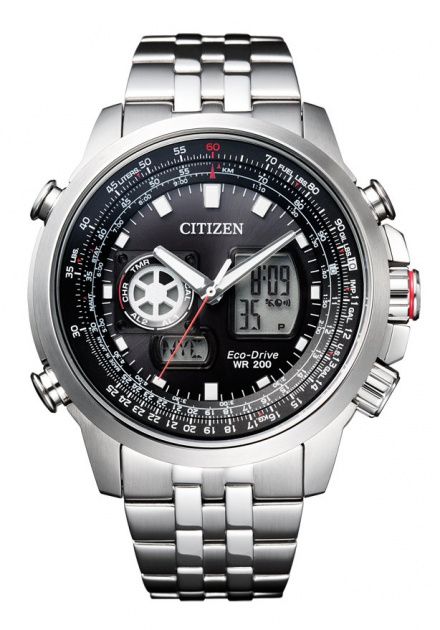 Citizen JZ1060-50E Zegarek Męski na pasku Eco Drive Citizen Altichron