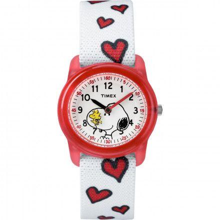 TW2R41600 Zegarek Dziecięcy Timex X Peanuts Snoopy & Hearts