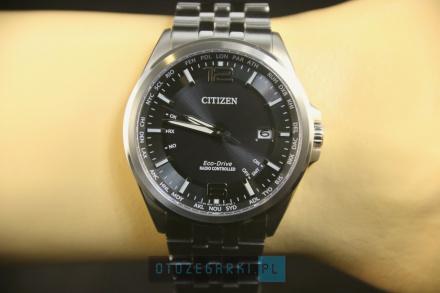 Citizen CB0010-88E Zegarek Męski na bransolecie Citizen Radiocontrol
