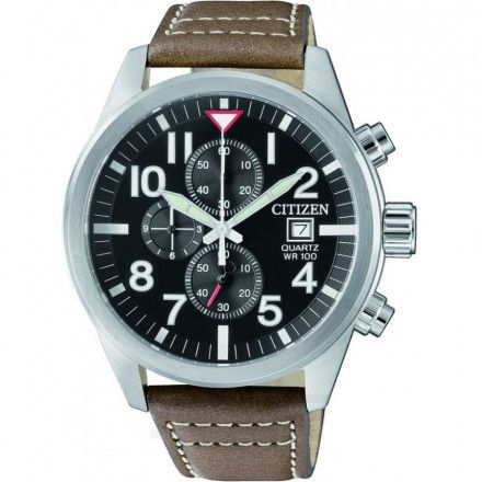 Citizen AN3620-01H Zegarek Męski na pasku Citizen Chrono