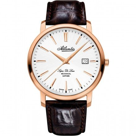 Zegarek Męski Atlantic Super De Luxe 64651.44.21