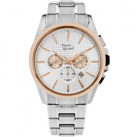 Pierre Ricaud P60017.R113CH Zegarek - Niemiecka Jakość