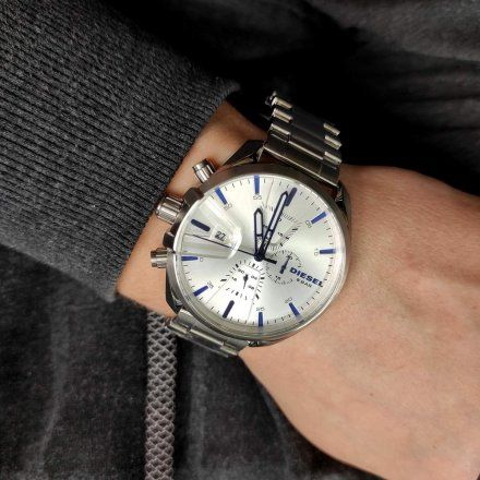 Diesel DZ4473 Zegarek Męski Na Bransolecie Z Kolekcji MS9 Chrono