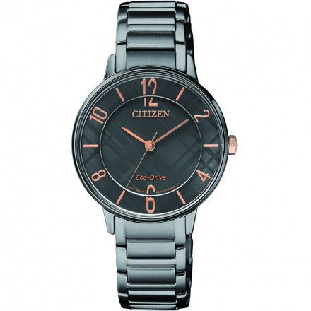 Citizen EM0528-82H Zegarek Damski bransoleta Citizen Lady Eco Drive
