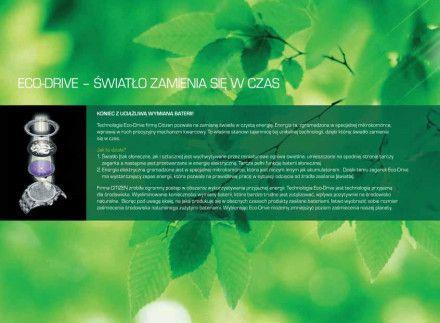 Citizen EM0533-82Y Zegarek Damski na bransolecie Eco Drive Elegance