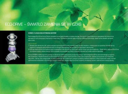 Citizen EW5520-84D Zegarek Damski na bransolecie Eco Drive Elegance