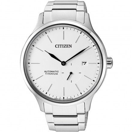 Citizen NJ0090-81A Zegarek Męski na bransolecie Titanium Automatic